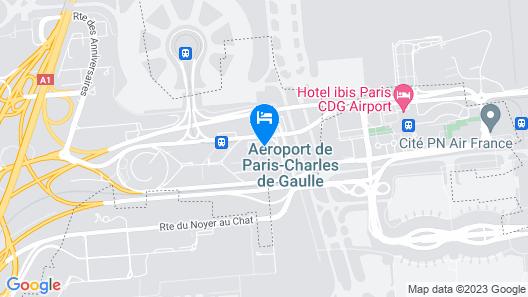 INNSiDE by Melià Paris Charles de Gaulle Airport Map