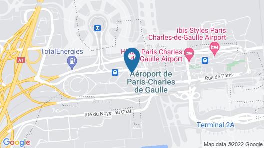 Holiday Inn Express Paris - CDG Airport Map