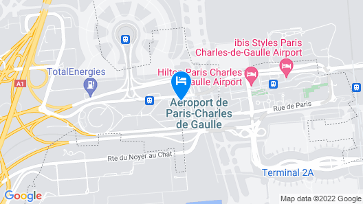 INNSiDE by Melià Paris Charles de Gaulle Airport Map