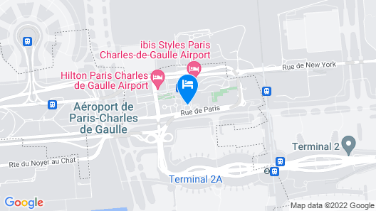 Novotel Paris Charles de Gaulle Airport Map