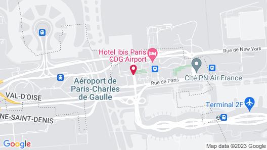 citizenM Paris Charles de Gaulle Map