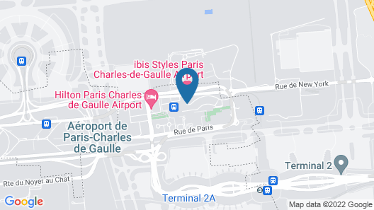 Pullman Paris Roissy CDG Airport Map