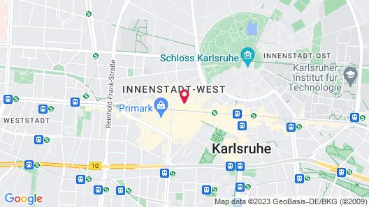 Gaestehaus Kaiserpassage - Hostel Map