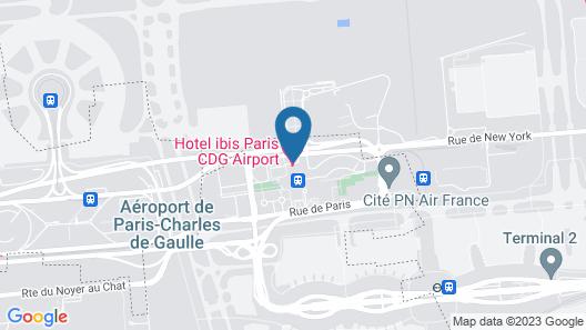 ibis Paris CDG Airport Map
