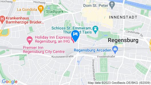 Holiday Inn Express Regensburg, an IHG Hotel Map
