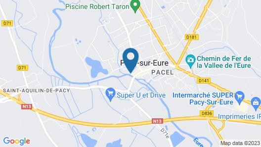 Bel Ami Map