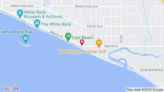 Ocean Promenade Hotel Map