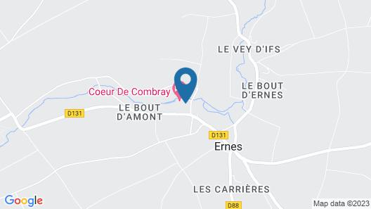 Coeur de Combray Map