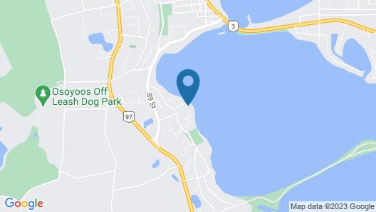 Location! Location! 3 Bdrm Condo w/ Lake View, Private Patio, and Private Beach Map