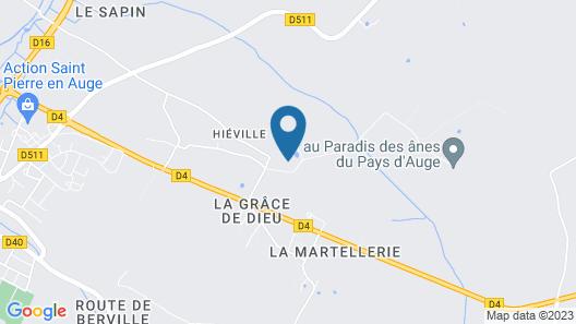 Château de Hieville Map
