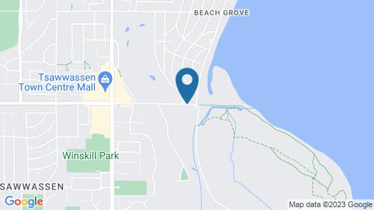 Beach Grove Motel Map