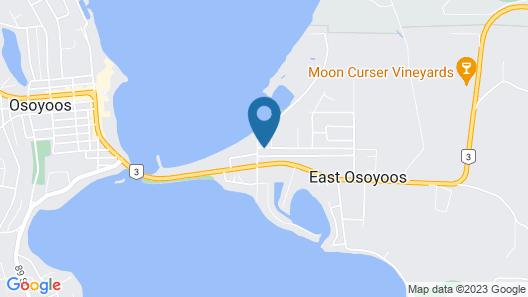 Riviera Motel Map