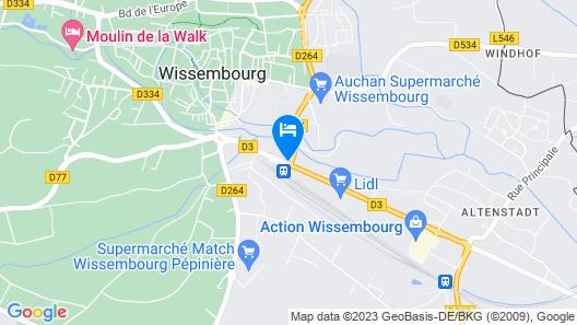 Hotel Weiss Map