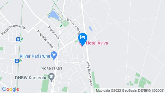 Hotel Aviva Map