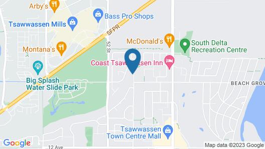 Tsawwassen Vancouver 4bdrm House Map
