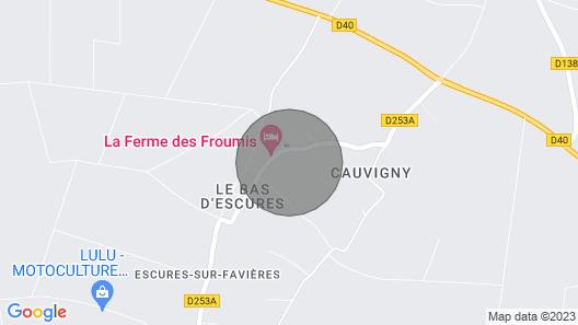 LA Villa Escuris - Manor History of the Xviii Century Map