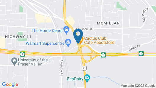 Travelodge by Wyndham Abbotsford Bakerview Map