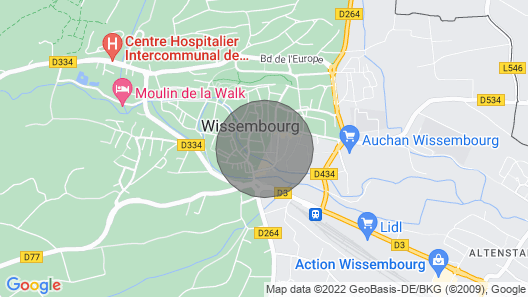 Charming Holiday Home in Wissembourg Map