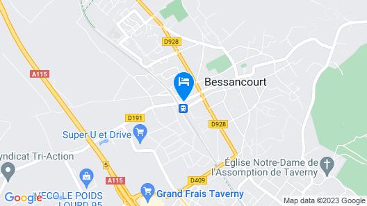 Café de la Gare Map