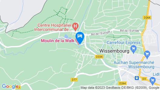 Moulin de la Walk Map