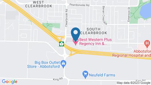 Best Western Plus Regency Inn & Conference Centre Map