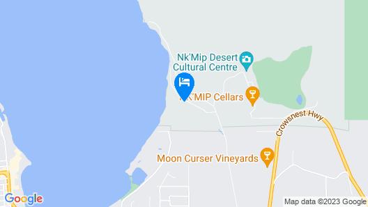 Desert Lakehouse at Nk'mip Map