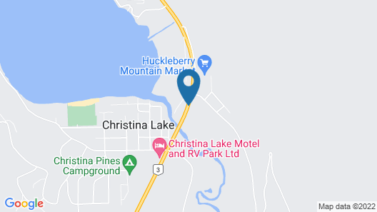 Lakeview Motel Map