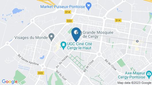 DelaLauret Apartment Map