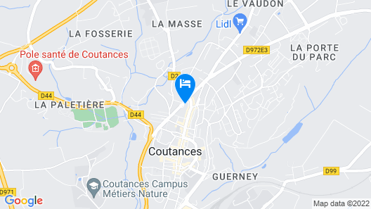 Hôtel La Pocatiere Map