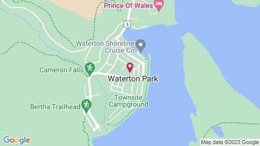 Waterton Lakes Lodge Resort Map
