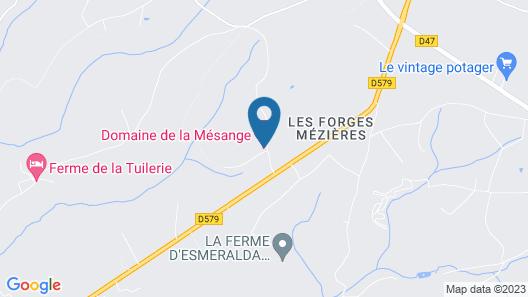 Domaine de la Mésange Map