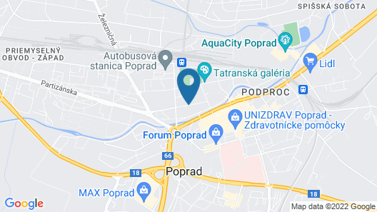 Hotel Satel Map