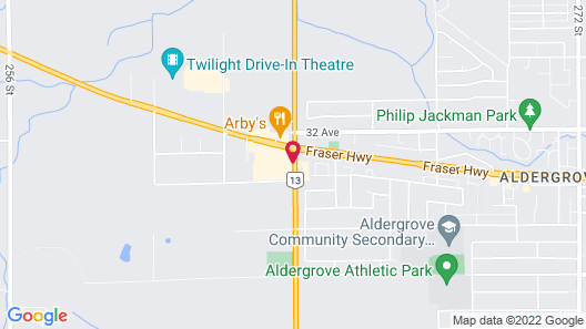 Best Western Plus Country Meadows Inn Map