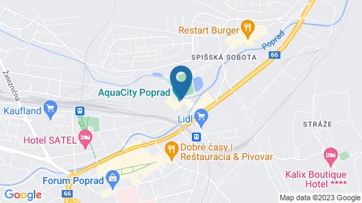 Hotel AquaCity Seasons Map