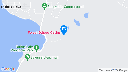 Forest Echoes Cabins Map