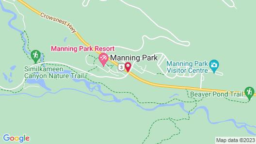 Manning Park Resort Map