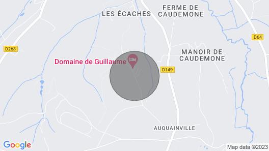 Chalets-gîtes 6 Pers. en Normandie Baratte Map
