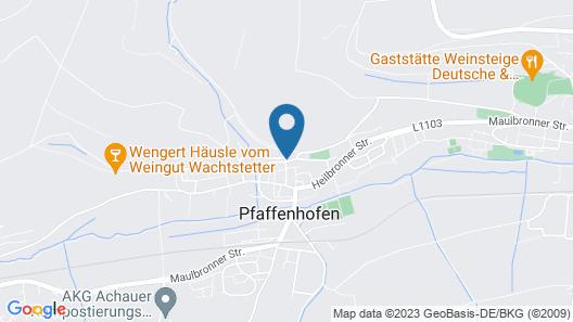 Pfaffenhofen Monteurzimmer Map