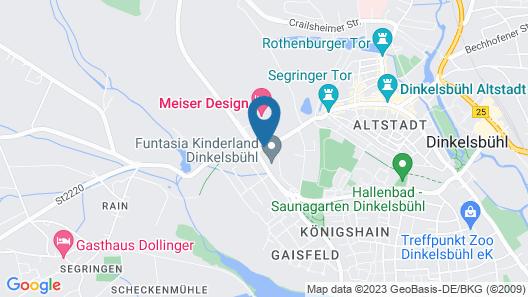 Hotel SCHLAFZIMMER Map