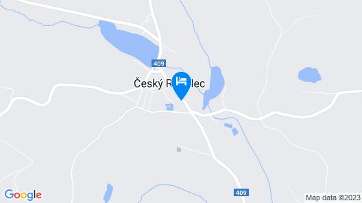 Zájezdní hostinec zámek Český Rudolec Map