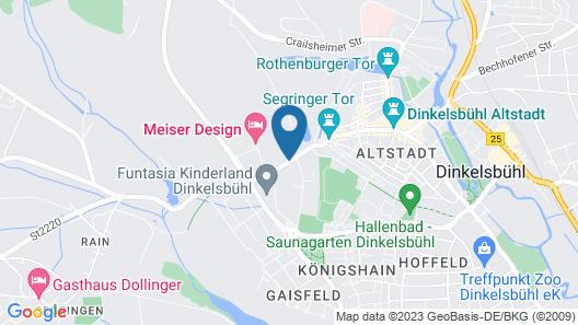 Meiser Design Hotel Map