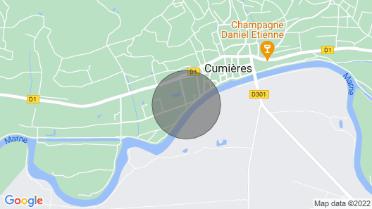 House 6 people epernay cumieres Map