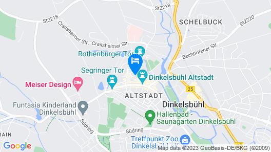 Altstadtmittehotel Map