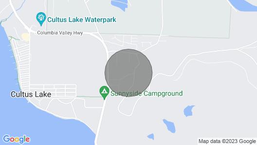 Cultus Lake Vacation Rentals Map
