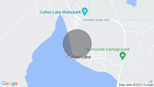 Cultus Lake Luxury Resort - Steps to the Lake and Theme/Waterpark Map