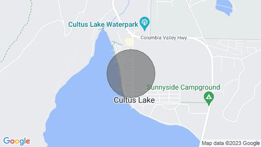 Family vacation home at Cultus Lake - Pet Friendly Map
