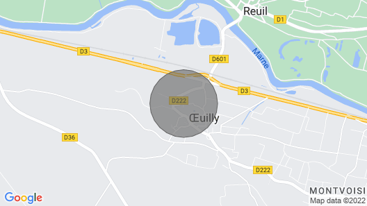 L'oeuillade: Calm and Tranquility in Champagne Map