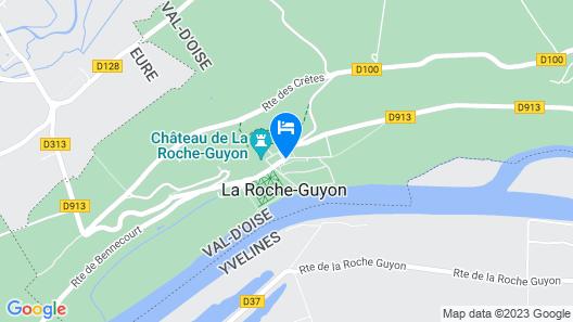Le Logis du Château Map