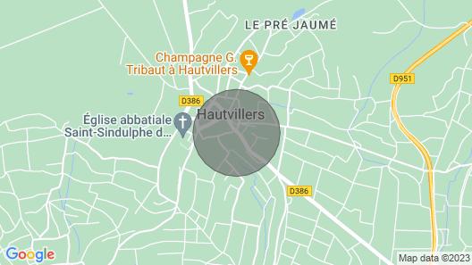 Maison Privée Indépendante, Chez un Chef de Cave, Dans le Berceau du Champagne Map
