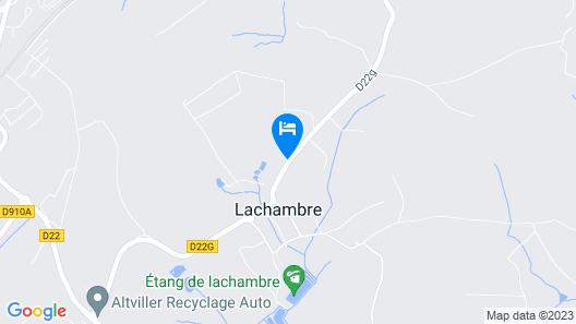 Le Domaine des Prés Map